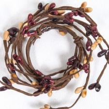 1.5 IN CANDLE RING; 96 BERRIES; MULBERRY